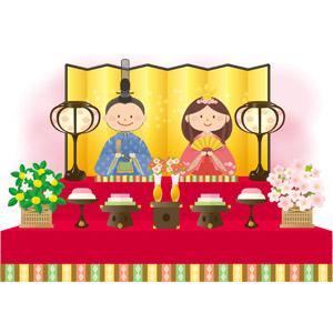 日本の雛人形